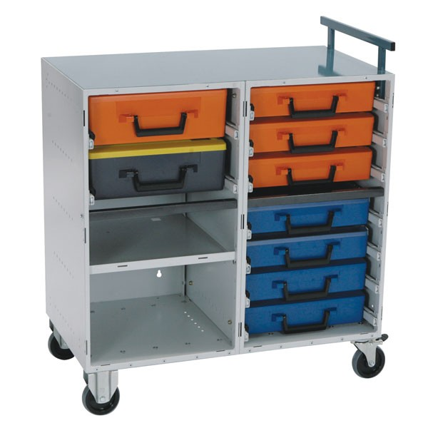 Dual Drawer Cabinet Kit With Cases