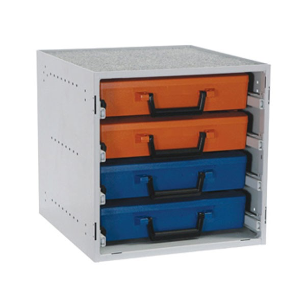 Drawer Cabinet With Cases