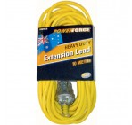 Extension Lead, 10M 10A, Yellow